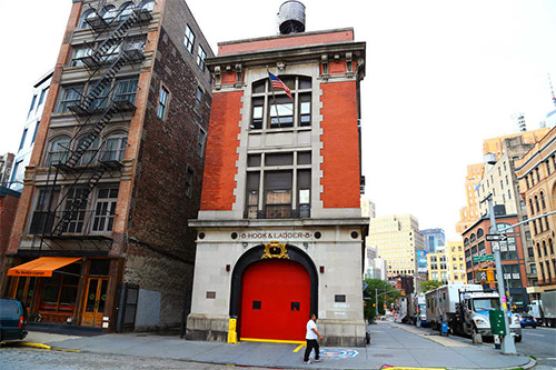 caserma dei ghostbusters a tribeca new york