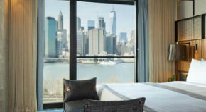 Hotel a New York con vista