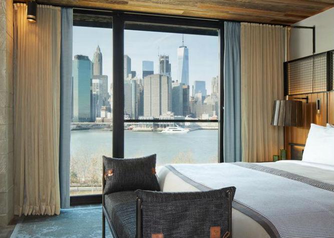 i migliori hotel a new york con vista panoramica sulla citt