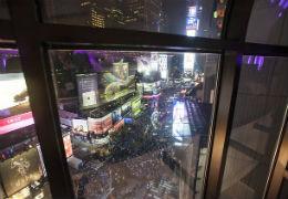 Vista su Balldrop da hotel a Times Square