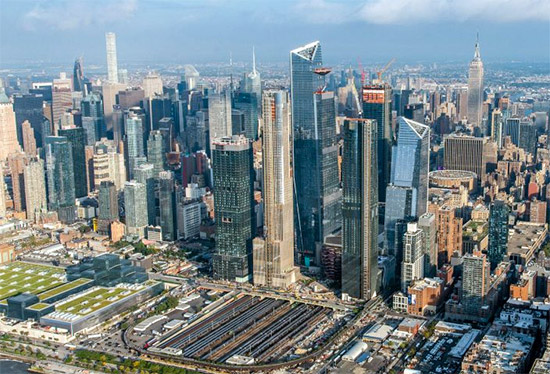 Hudson Yards a New York