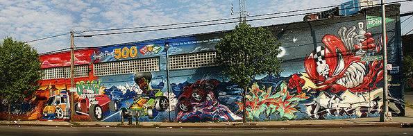 Hunts Point Murales, Bronx