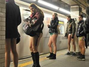 Improv Everywhere No Pants Subway Ride