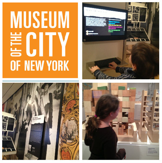 Gli interni del museo - Museum City of New York