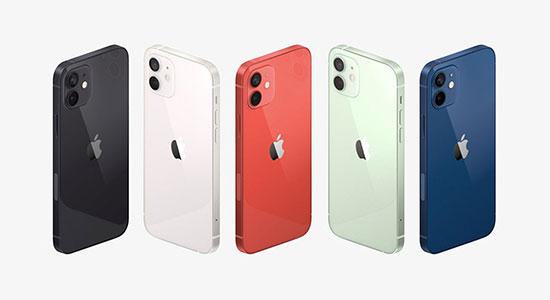 colorazioni iPhone 12 e iPhone 12 mini