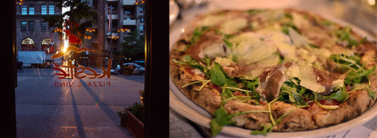 La pizzeria Kestè di Foulton Street