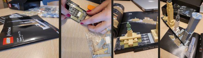 Montaggio LEGO New York