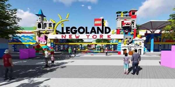 Ingresso di Legoland New York - opening apertura
