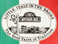 Little Italy nel Bronx a New York