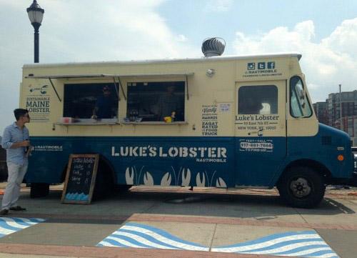 il furgoncino di Lukes Lobster