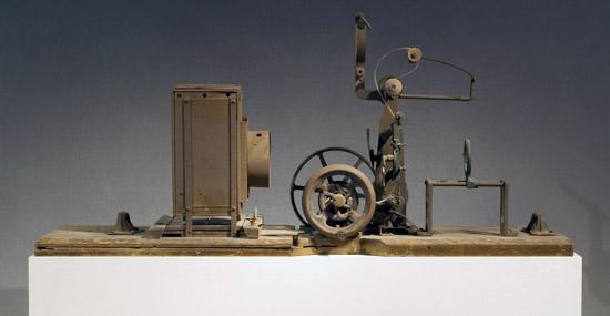 magniscopio del 1896 al Museum of Moving Image