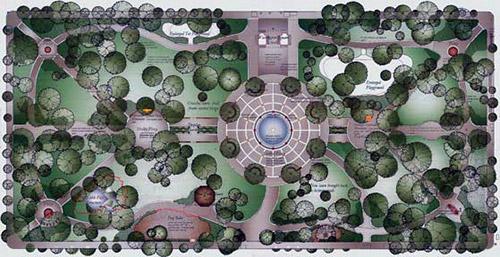 mappa del Washington Square Park