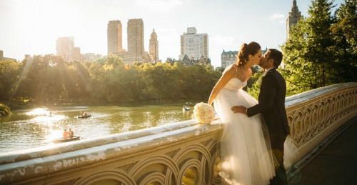 Matrimonio a New York, Central Park
