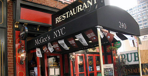 Il McGees pub in midtown manhattan di How i met your Mother