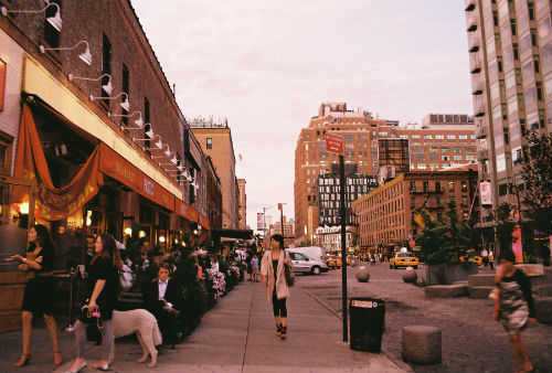 Il Meatpacking District a New York