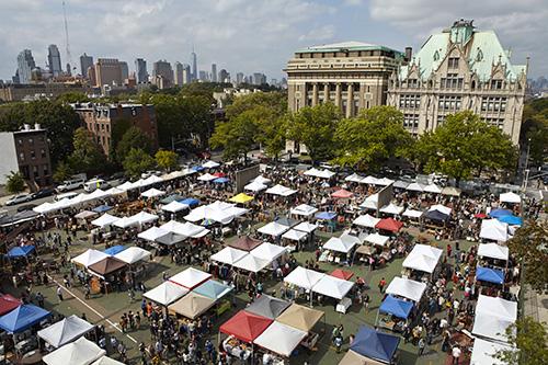 mercatino Brooklyn Flea la Domenica