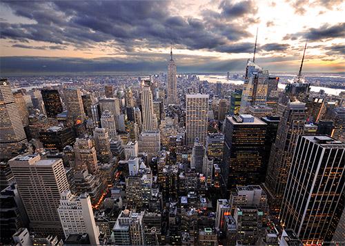 da dove vedere il panorama di new york