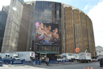 Esterno Madison Square Garden