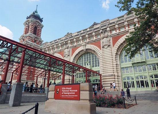 museo dell'immigrazione a Ellis Island