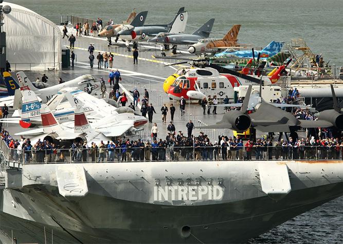 Cosa vedere al museo Intrepid di New York - Space Shuttle