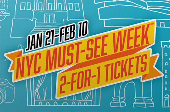 La Must-see Week e i biglietti 2x1 a New York