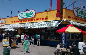 Nathan's Famous a Coney Island