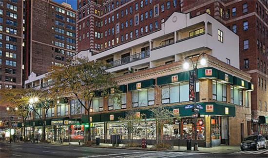 negozio di fotografia ed informatica elettronica B&H nel quartiere Chelsea di New York