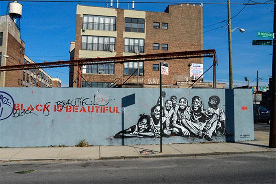 Murales e graffiti a Bushwick con messaggi intelligenti - Fotogallery 01