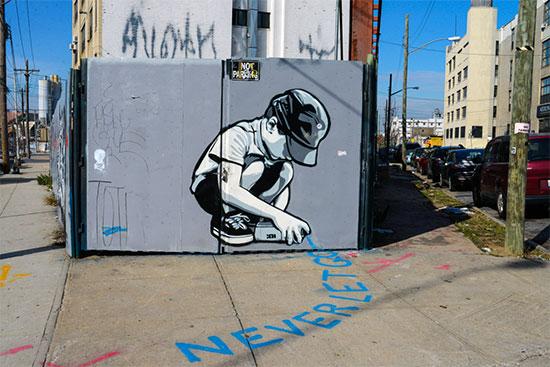 Murales e graffiti a Bushwick con messaggi significativi - Fotogallery 02