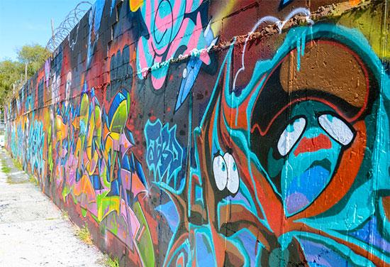 Murales e graffiti a Bushwick - Fotogallery 03