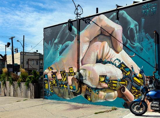 Murales e graffiti a Bushwick, Brooklyn, New York - Fotogallery 05