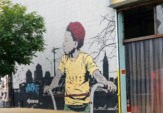 Murales e graffiti a Bushwick, Brooklyn, New York - Fotogallery 09