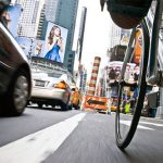 New York in bicicletta