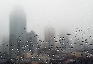 new york pioggia