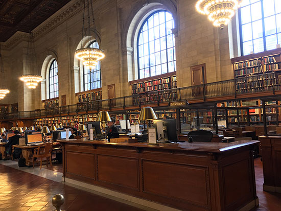 New York Public State Library