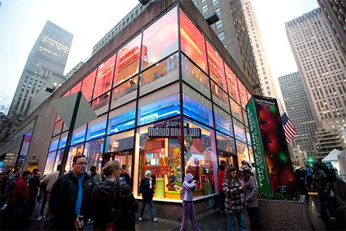 negozio di giochi nintento world store