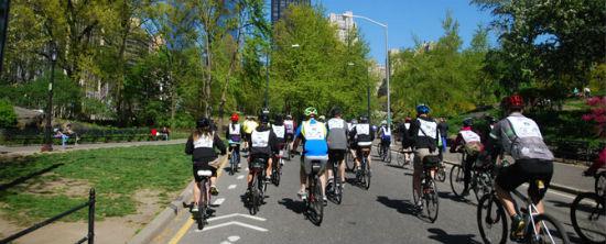 noleggio bici in ottobre a new york