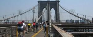 noleggio bici al ponte di brooklyn