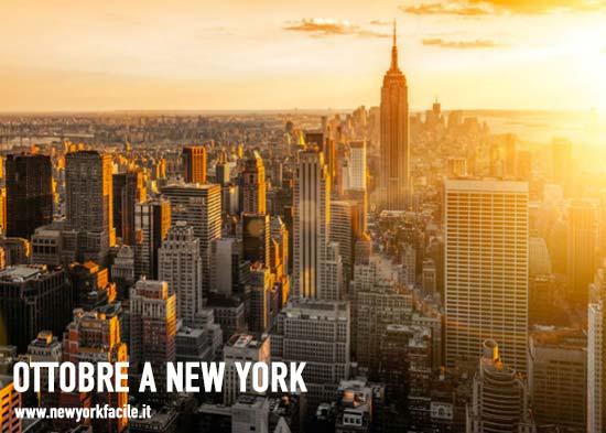 Ottobre a New York