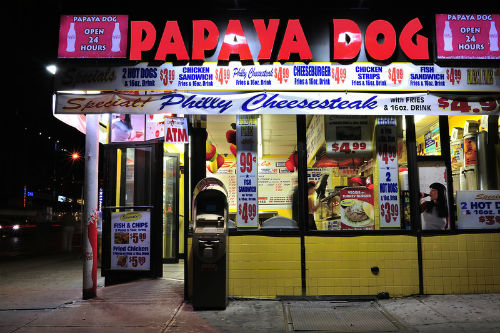 papaya dog a manhattan