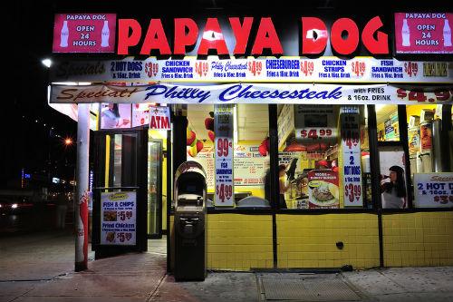 papaya dog a manhattan