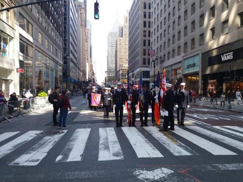 partecipazione alla parata per il Columbus Day