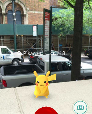 Pikachu a New York
