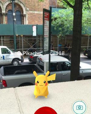 Pikachu a New York