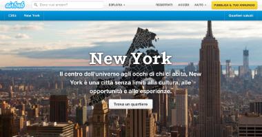 Airbnb: portale di prenotazione appartamenti a New York