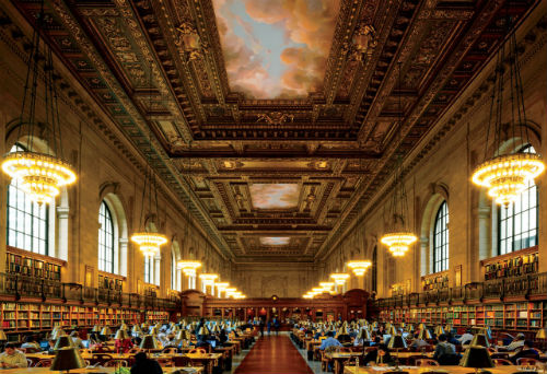 la public library di New York