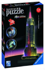 Puzzle 3D dell'Empire, New York