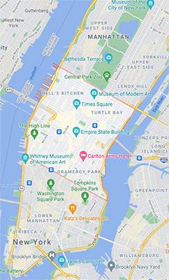 quartiere Midtown Manhattan a New York
