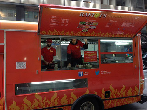 Rafiqi's food truck a New York
