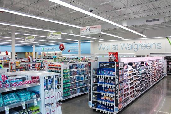 i vari reparti delle farmacie a new york